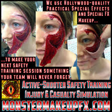 Monster Faces For Halloween Active Shooter And Active Harmer Simulations Emergency Safety