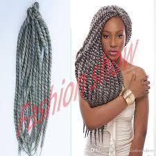 grey marley braiding hair 2018 silver grey havana mambo twist 22 130g pack crochet braids