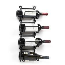 amazon com wallniture modular wrought iron wall mounted wine rack