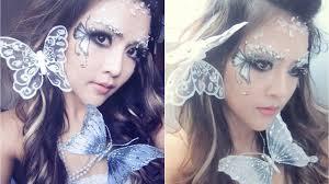 Halloween Butterfly Makeup by Glitter U0026 Ice Butterfly Fairy Makeup Tutorial For Halloween Or