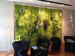 Indoor Vertical Gardens - alluring living room indoor vertical garden wall ideas with green