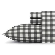 Bed Bath And Beyond Flannel Sheets Buy Grey Plaid Flannel Sheets From Bed Bath U0026 Beyond