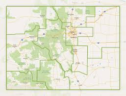 Colorado National Parks Map by Cu Public Outreach And Community Engagement Across Colorado