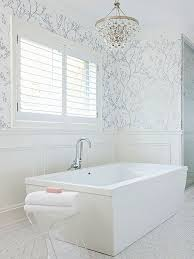 wallpaper bathroom designs best 25 bathroom wallpaper ideas on half bathroom