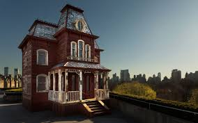 replica of u0027psycho u0027 house opened on museum rooftop travel leisure