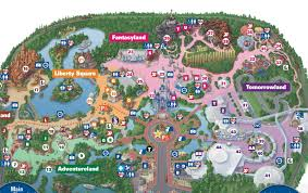 Disney Land Map New Fantasyland On The Magic Kingdom Guide Map Photo 1 Of 2