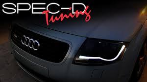 2001 audi tt front bumper cover specdtuning installation 2000 2006 audi tt projector