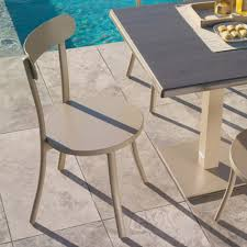 Modern Bistro Chairs Set Of 8 Modern Design Garden Chairs Bistrò By Talenti