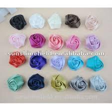satin roses satin ribbon roses flower for wedding decoration satin ribbon roses
