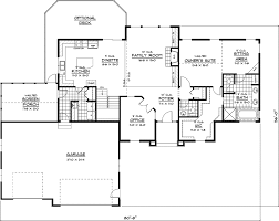 luxury ranch floor plans uxbridge luxury ranch home plan 091d 0407 house plans and more