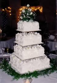 square wedding cakes square wedding cakes s bakery