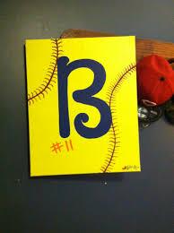 softball painting diy pinterest softball pitching machine