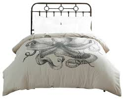 Valentina Ramos Duvet Pulpo Octopus Duvet Beach Style Duvet Covers And Duvet Sets