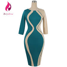 club wear pencil dress with half sleeves wedding cocktail
