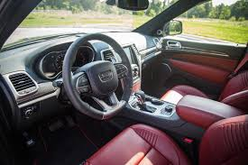 Jeep Grand Cherokee Srt Interior Review 2017 Jeep Grand Cherokee Srt Canadian Auto Review