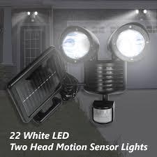 Motion Sensor Porch Ceiling Light by Dual Security Detector Solar Spot Light Motion Sensor Outdoor 22