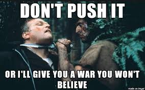 Rambo Meme - rambo s warning 1 meme on imgur