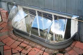 How To Cover Basement Windows by Replace A Steel Of Basement Window Wells