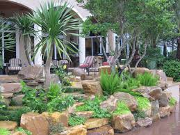 Rock Garden Florida Rock Garden Wall Florida Tropical Landscape Contemporary Miami