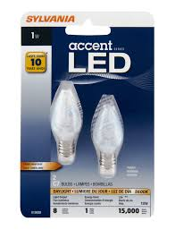 Sylvania Led Strip Lights by Sylvania Daylight 1 Watt Led Light Bulbs Shop Light Bulbs At Heb