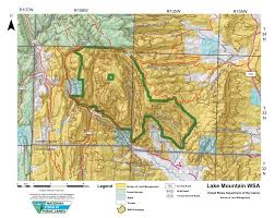 Blm Maps Colorado by Lake Mountain Wsa Wyoming Public Lands Initiative In Sublette County