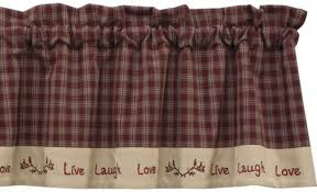 Primitive Kitchen Curtains Bj U0027s Country Charm Sturbridge Wine Shower Curtain Primitive
