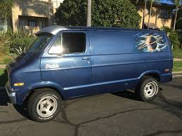 dodge work van unsullied shag tastic dodge b200 van