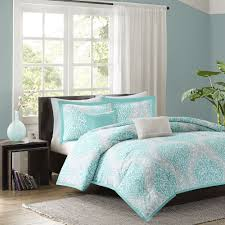 light grey comforter set beautiful chic aqua teal light blue grey soft comforter set