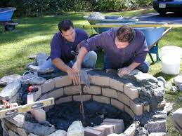 Brick Fire Pits by How To Build A Fire Pit Diy Fire Pit How Tos Diy