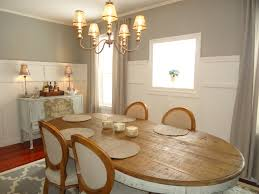 finally chose a warm gray color for dining area sherwin