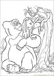tarzan 46 coloring free tarzan coloring pages