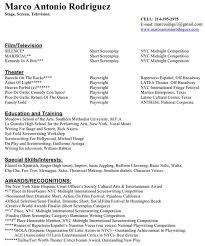 Resume Espanol Writer Resume Marco Antonio Rodriguez U0027 Official Site