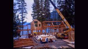 hamill creek timber homes raising and sip installation arrow