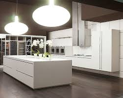 Contemporary Kitchen Cabinets Unique Contemporary Kitchen Cabinets With Big Lamps 9761
