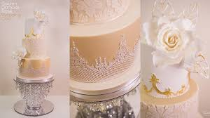 wedding cake online golden damask wedding cake online cake decorating tutorials