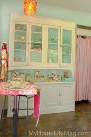 Retro Kitchen Hutch 108 Best Pink And Blue Kitchens Images On Pinterest Kitchen