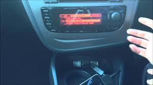 seat leon mk2 facelift usb ipod iphone connection youtube