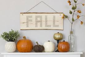 32 diys to get your home ready for fall