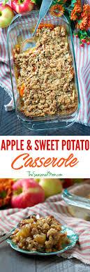 easy apple and sweet potato casserole the seasoned