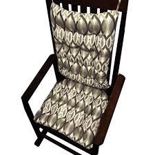 art nouveau rocking chair cushions latex foam fill u2013 barnett