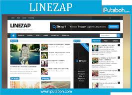 linezap responsive free blogger templates iputaboh blogger