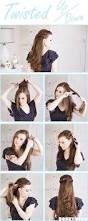 Hairstyle Steps For Girls by Step By Step Pictorial Tutorials Of Different Style Puff Hairstyle