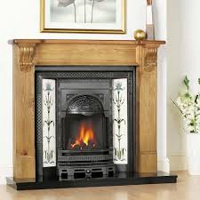 Cast Iron Fireplace Insert by Edwardian Tiled Fireplace With Inset Stove Stove Pinterest