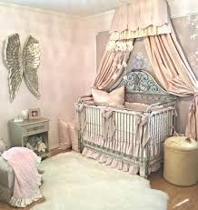 Harlow Crib Bedding by Harlow U0027s Vintage Glam Blush Nursery Project Nursery