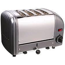 4 Slice Bread Toaster Dualit 40348 4 Slice Bread Toaster Metallic Charcoal Amazon Co