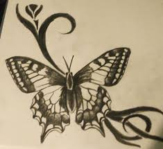 butterfly sketch by madschquee on deviantart