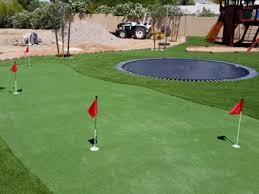 Backyard Artificial Grass by Installing Artificial Grass Whitehawk California Putting Green