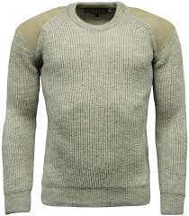 shooting sweater mens 100 wool shooting country jumper heavy knit