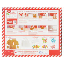 A Frame House Kit Gingerbread House Kit 2 2 Lb Walmart Com