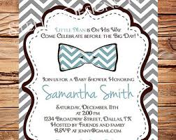 bow tie baby shower invitations bow tie baby shower invitations printable navy blue silver